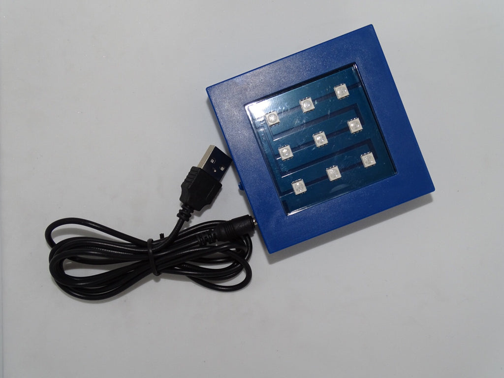 USB Power Cable for Doctor Who classic crystal TARDIS replica on an LED-lit base