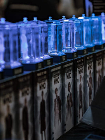 Doctor Who Crystal TARDIS Series MASTER COLLECTION