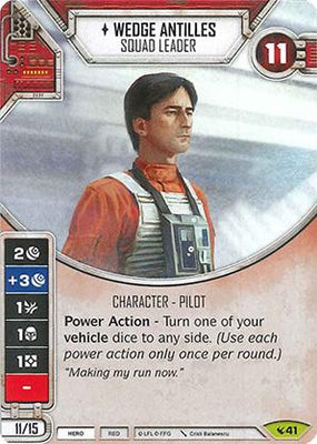Wedge Antilles - Squad Leader