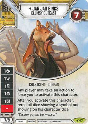 Jar Jar Binks - Clumsy Outcast