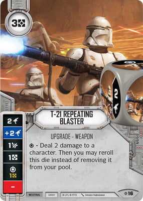 T-21 Repeating Blaster