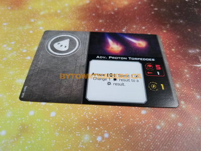 Adv. Proton Torpedoes Upgrade Card