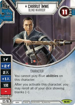 Chirrut Îmwe - Blind Warrior