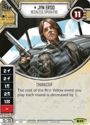 Jyn Erso - Reckless Operative