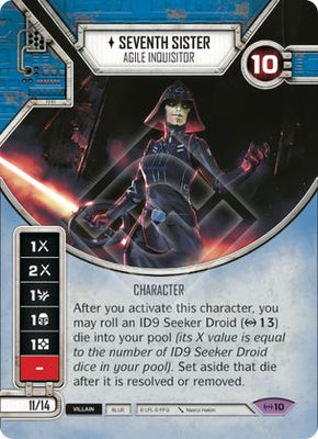 Seventh Sister - Agile Inquisitor
