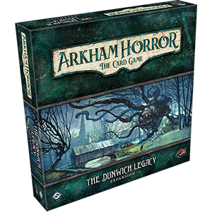 The Dunwich Legacy, An Arkham Horror LCG expansion