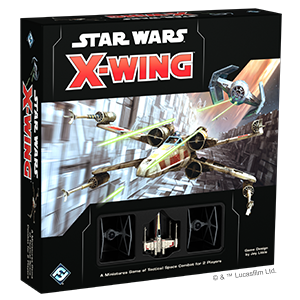 X-Wing Second Edition Core Set with Promo T65 X-Wing Damage Deck