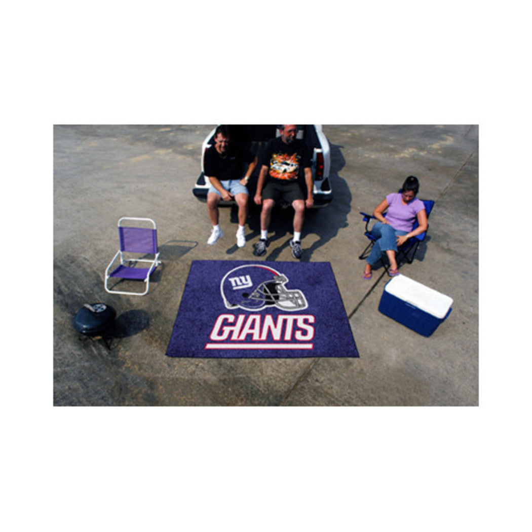 "19"" X 30"" Inch NFL Giants Door Mat Printed Logo Football Themed Sports Patterned Bathroom Kitchen Outdoor Carpet Area Rug Gift Fan Merchandise Vehicle - Diamond Home USA"