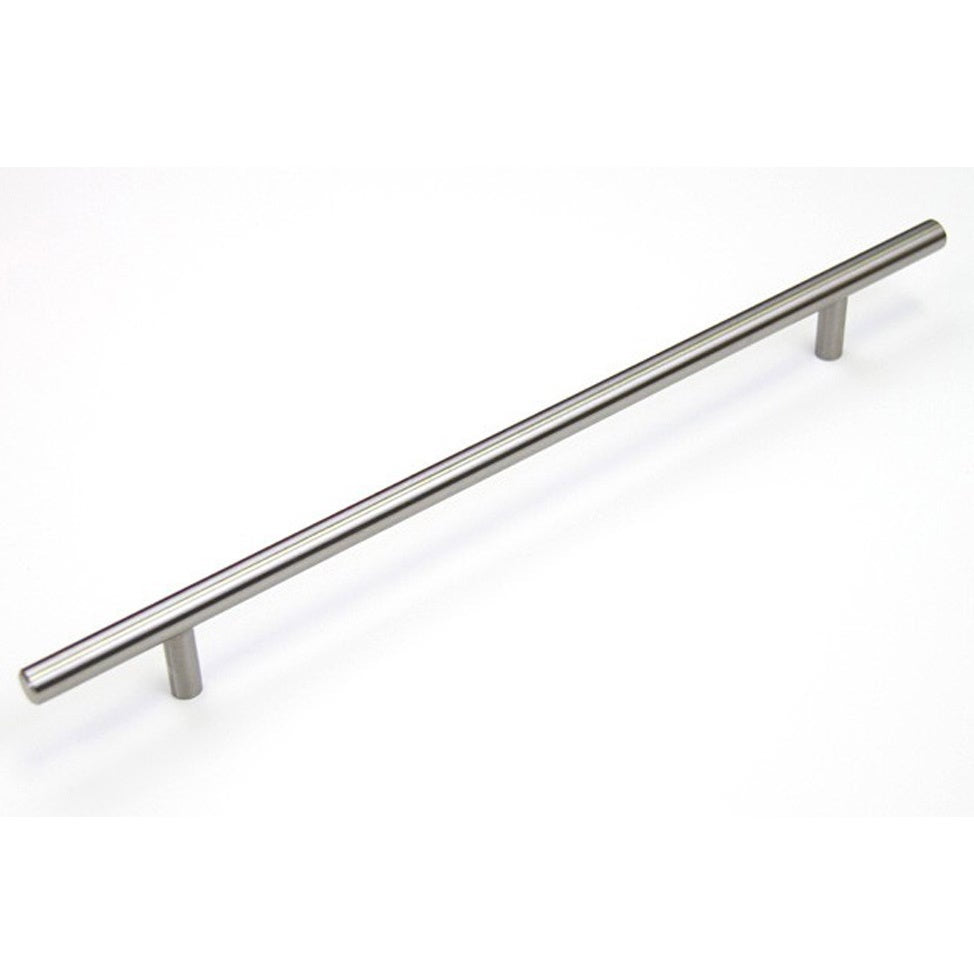 14-inch Stainless Steel Cabinet Bar Pull Handles (Case Of 10) Grey Nickel Finish - Diamond Home USA