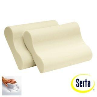 Serta Memory Foam Contour Pillows (Set 2) - Diamond Home USA