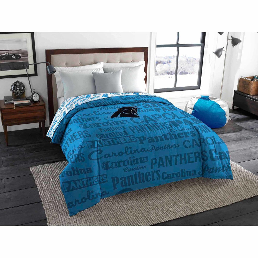 aa92fb66db1 NFL Anthem Twin/Full Bedding Comforter Only Carolina Panthers ...