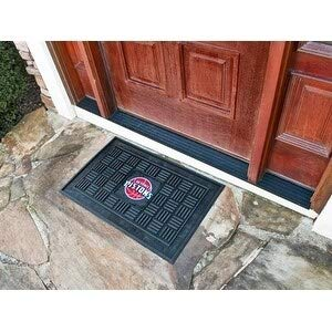 "32""x20"" Black Pistons Door Mat Basketball Sports Mud Doormat Shoe Cleaning Mats 3D Embossed Design Indoor Outdoor Doormat Rug Team Logo Printed"