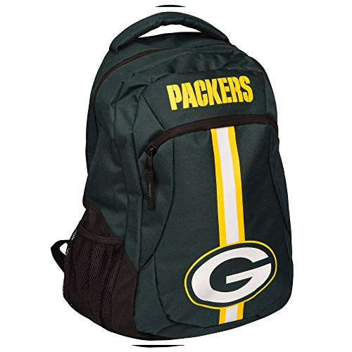 Green Bay Packers NFL Action Stripe Logo Backpack