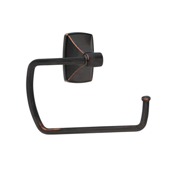 Stylish Oiled Bronze Toilet Paper Holder Wall Mount Bathroom Tissue Dispenser Rubbed Finish Metal