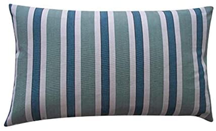 Handmade Funstripe Green Decorative Pillow 12