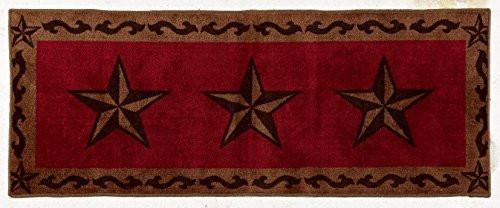 HiEnd Accents Star Rug Red - Diamond Home USA