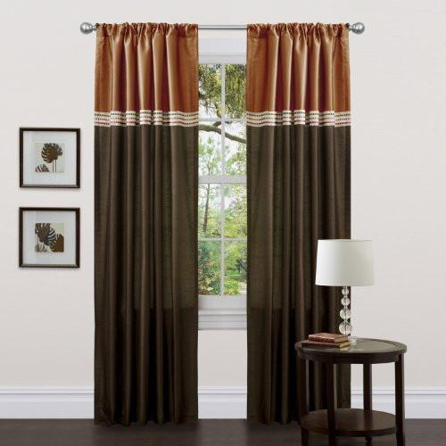 Lush Decor Terra Curtain Panel Pair