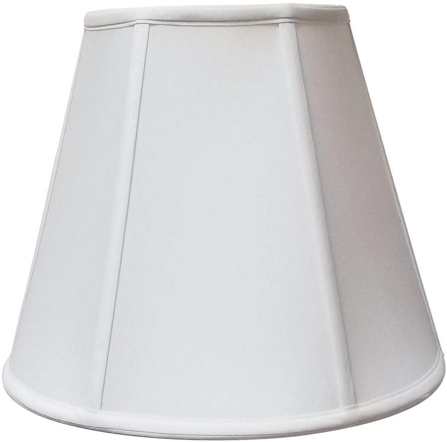 Deep Empire White Lamp Shade 8 X 14 11 Traditional