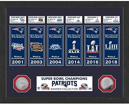New England Patriots owl Banner Collection Photo Mint Made USA