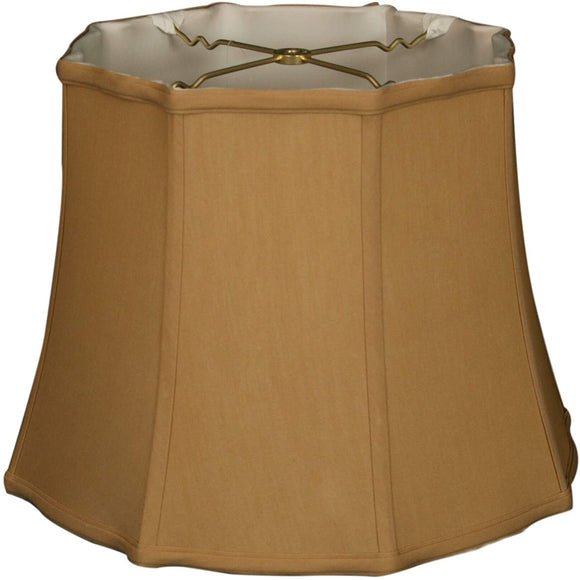 Pointed Drum Basic Lamp Shade Antique Gold 9 X 12 9 5 Traditional