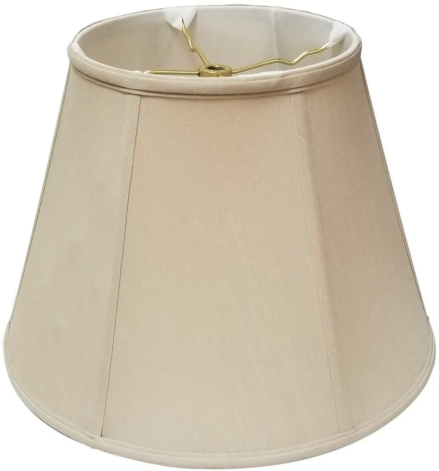 Beige Deep Empire Basic Lamp Shade 9 X 18 14 Brown Traditional