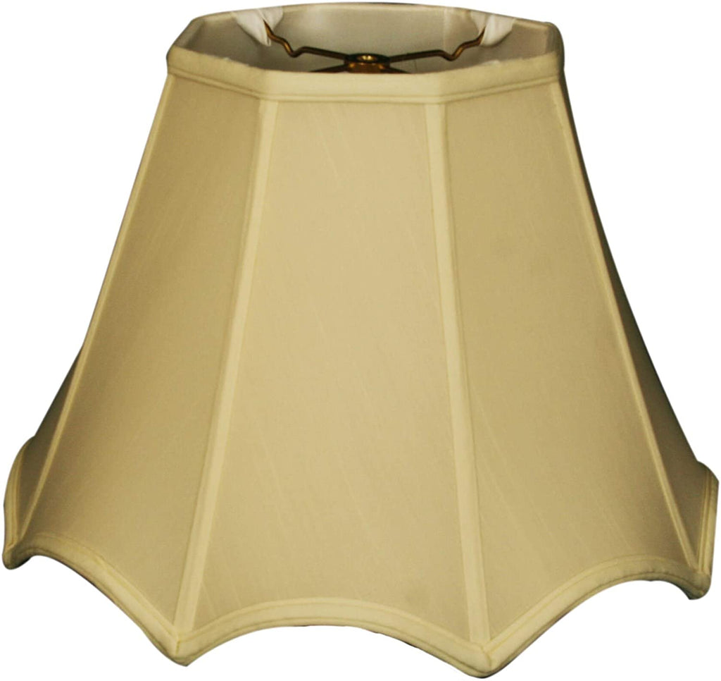 Pointed Empire Basic Lamp Shade Eggshell 5 5 X 12 9 5 Cream Traditional