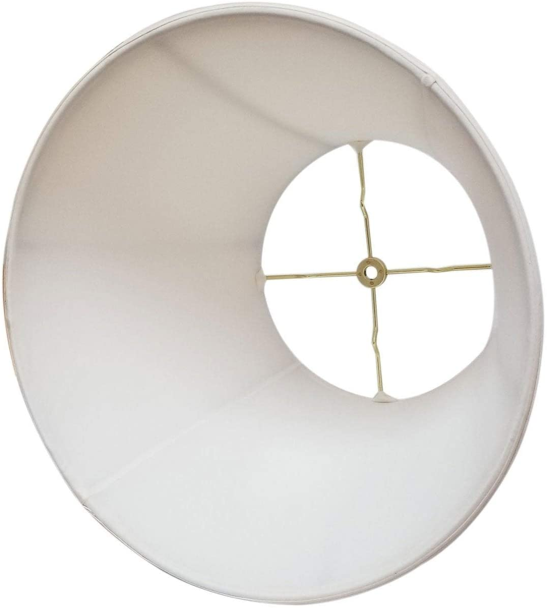 Modified Bell White Lamp Shade 10 5 X 17 13 5 Traditional