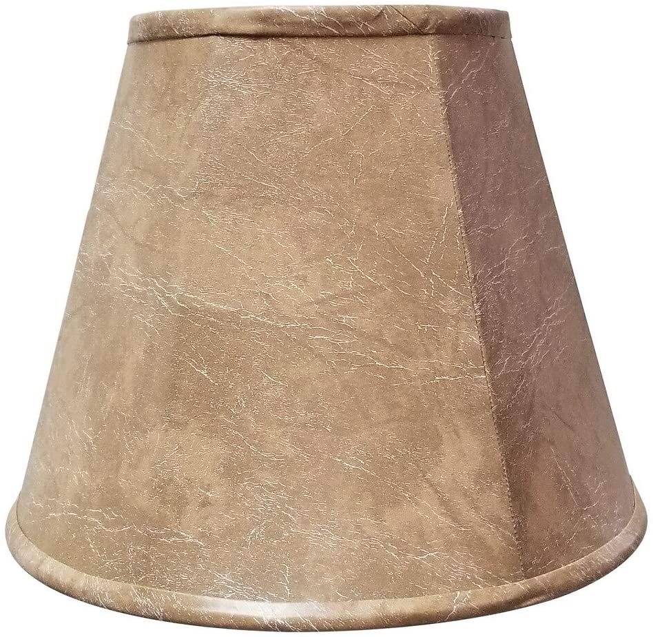 Deep Empire Lamp Shade 6 X 12 9 25 Brown Traditional