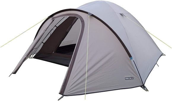 MISC Grey 4 Person Tent Camping 7X6 L Size Outdoor Tent Durable Protected Dry Large Backpacking Camp Tent Traveling Picnic Hunting Polyester
