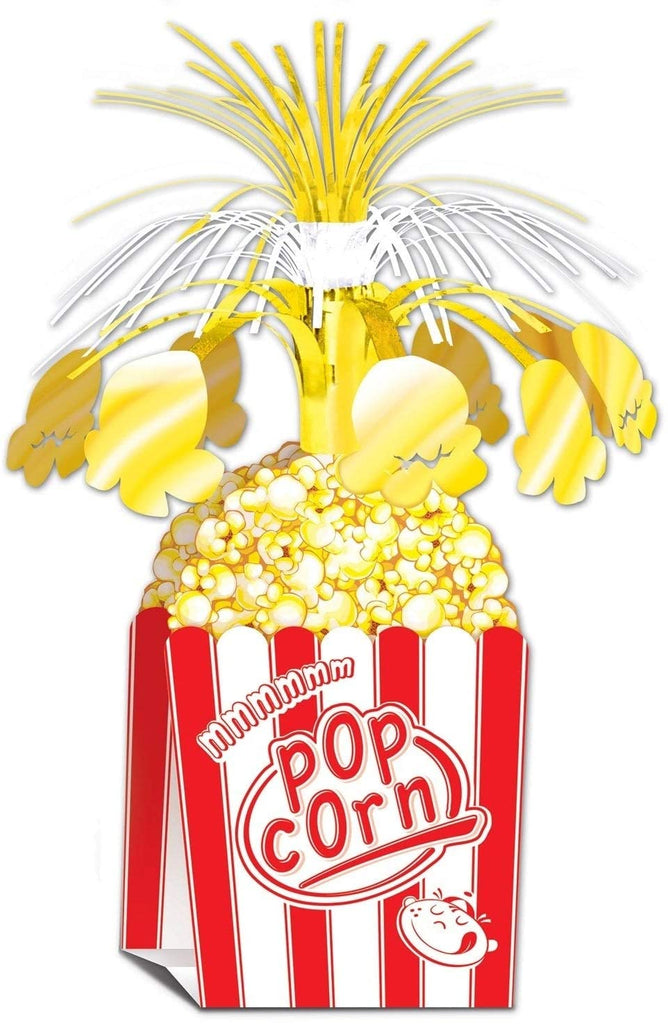 "15"" Awards Night Popcorn Party Centerpiece 12 Pack (1/pkg) Color Modern Contemporary Paper"