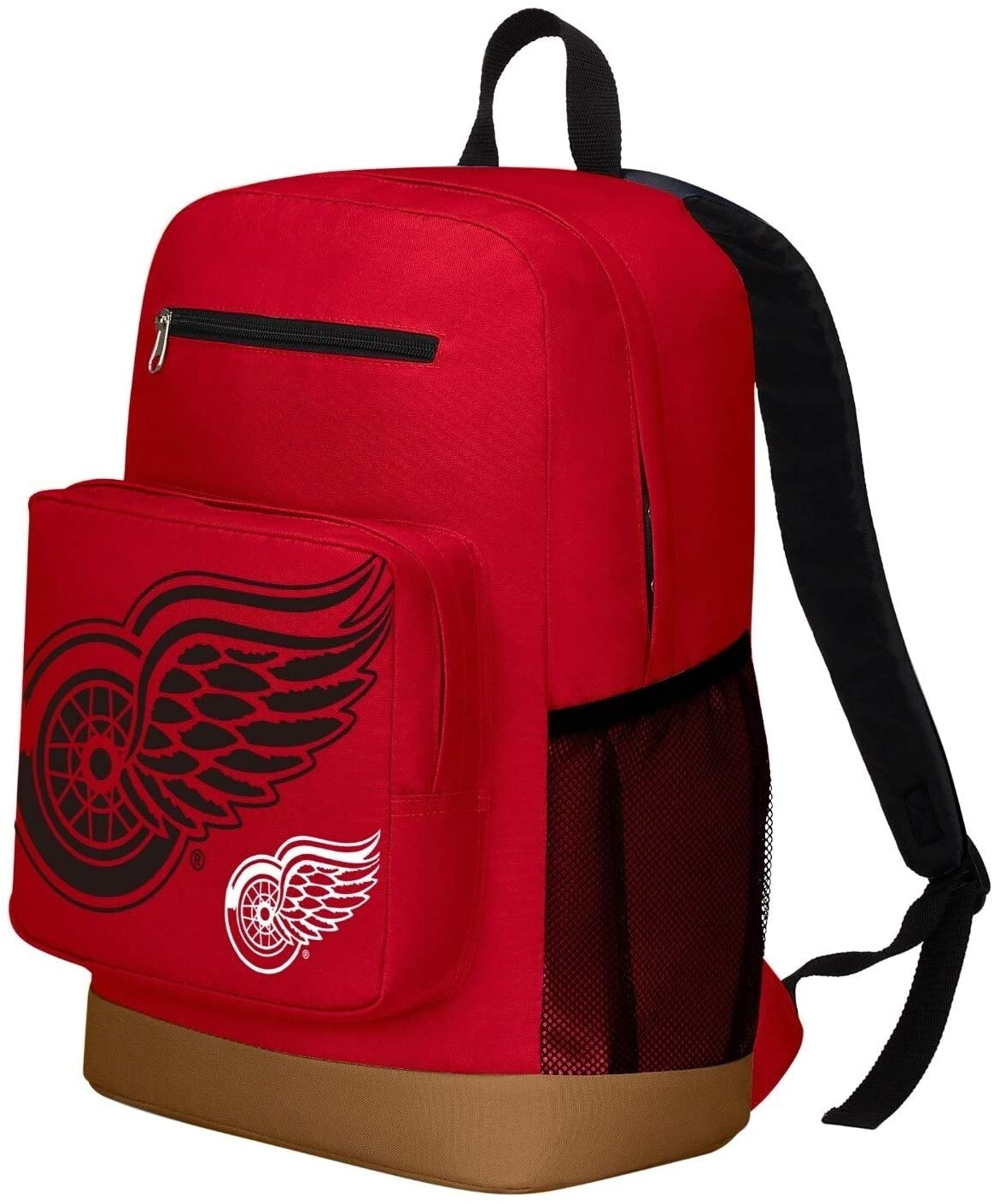 MISC Detroit Redwings Playmaker Backpack Red Nylon