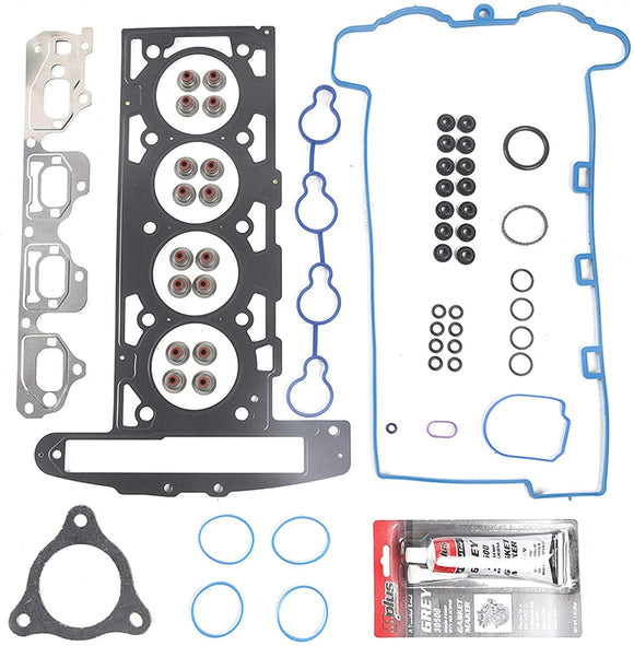 Gasket Set Chevrolet Cobalt Malibu Saturn Car Repair Black Metal