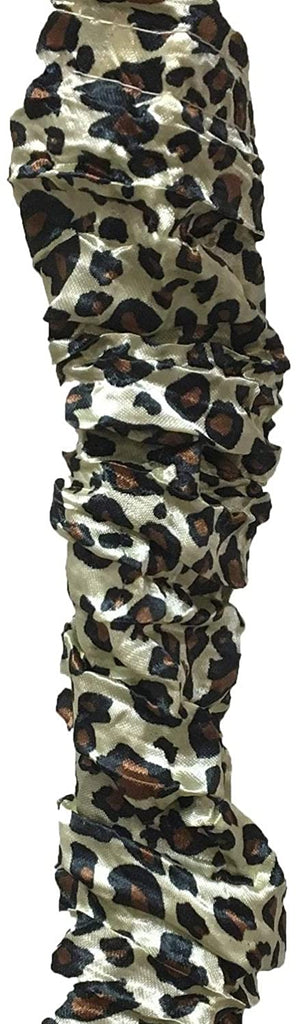Leopard Animal Cord Chain Cover 4 Feet Set 2 Color