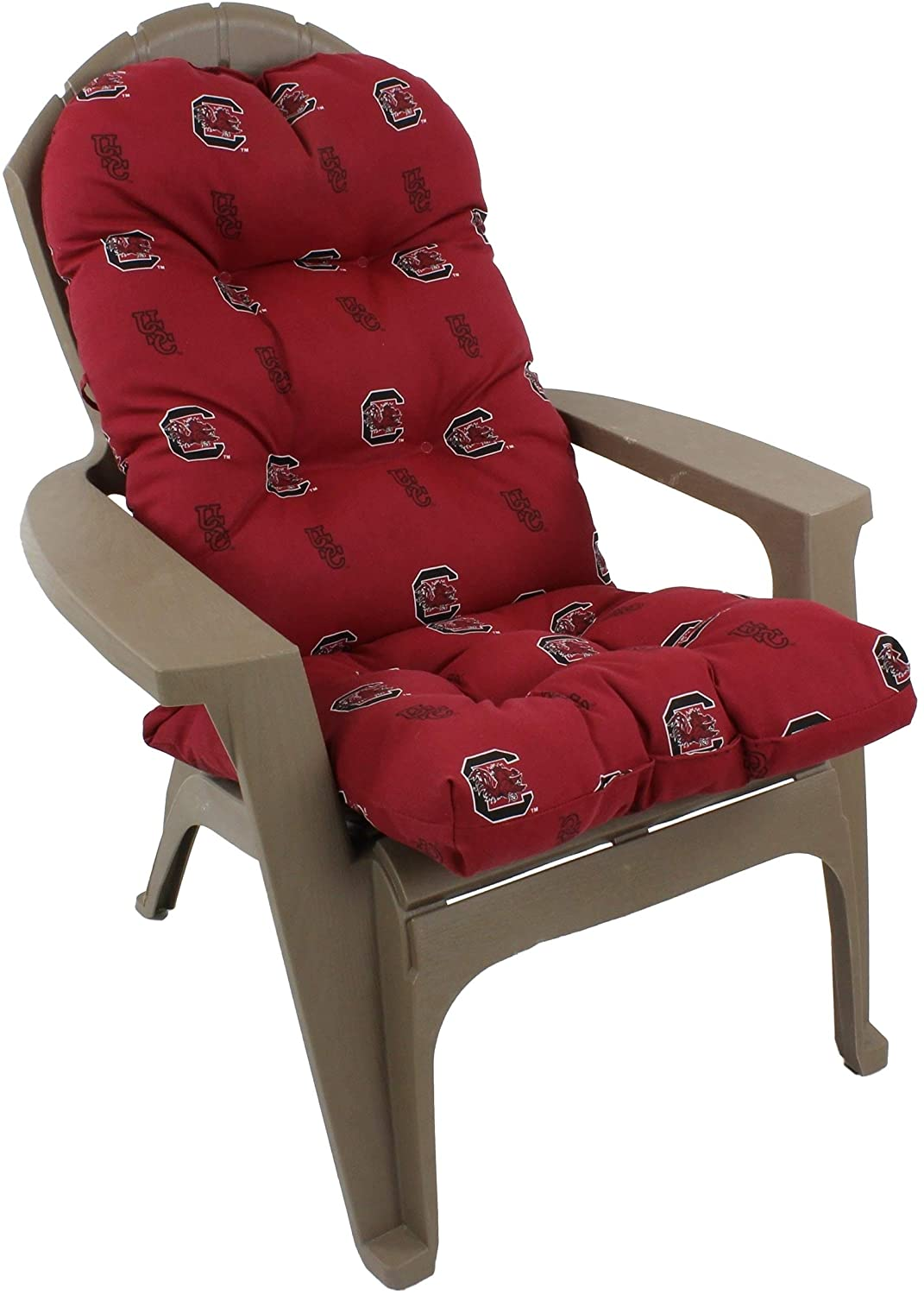 South Carolina Gamecocks Chair Cushion Color Solid Casual Polyester Uv Resistant