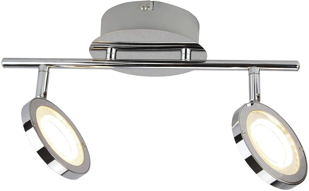"Led Flush Mount Ceiling Light 14"" w X 7 25"" h N/ Modern Contemporary Metal Bulbs Included"