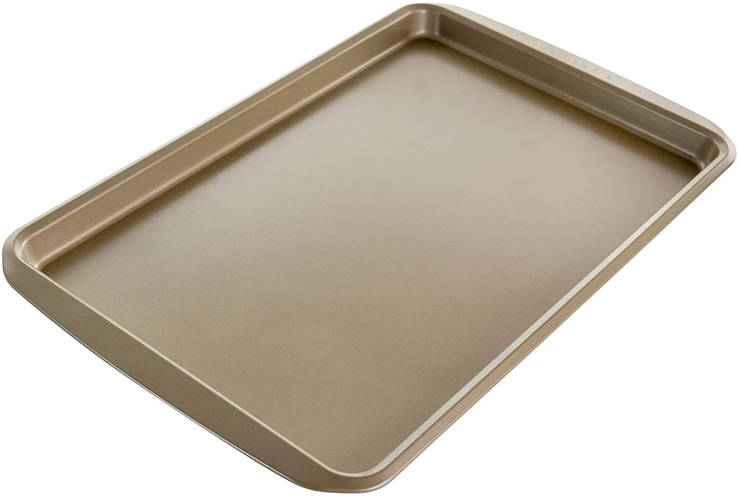 Unknown1 17 Inch Nonstick Carbon Steel Rectangular Cookie Sheet Silver Rectangle 1 Piece
