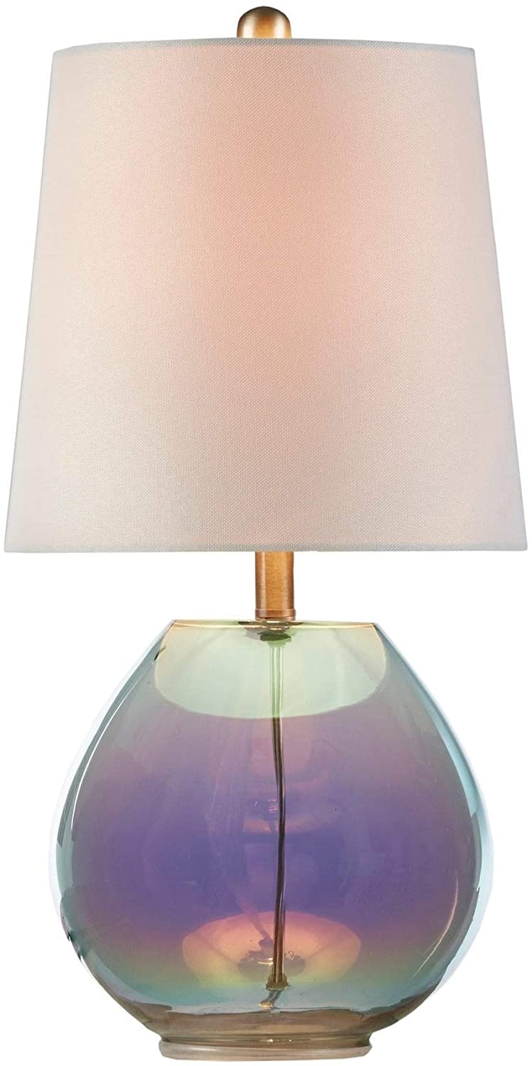 "MISC Green Table Lamp 10"" l X 10"" d 19 5"" h Energy Efficient"