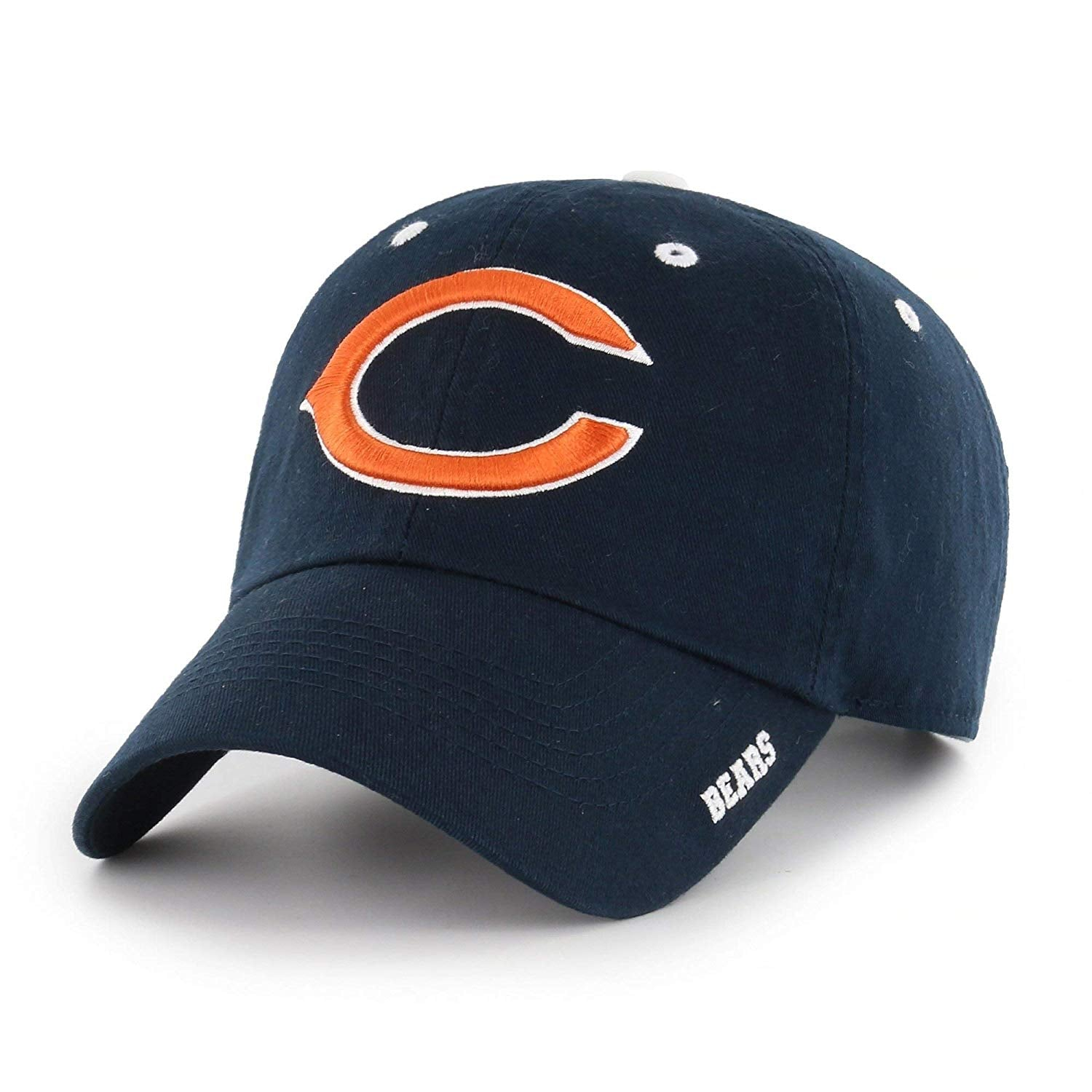 Blue NFL Chicago Bears Hat Sports Football Baseball Cap Embroidered Team Logo Athletic Games Adjustable Cap/Hat Boys Kids Unisex Fan Gift Stylish