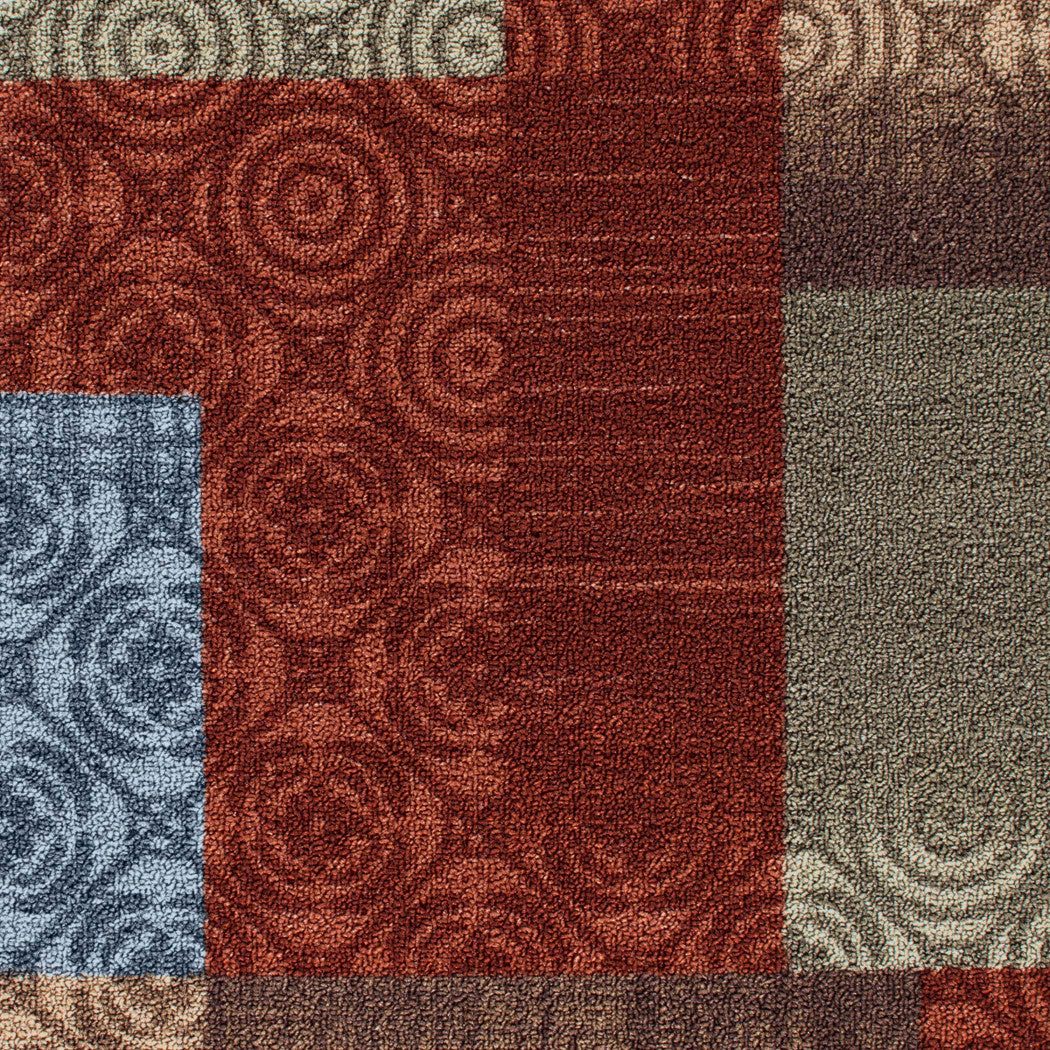 Mainstays Payton 3 Piece Nylon Accent Rug Set Red - Diamond Home USA