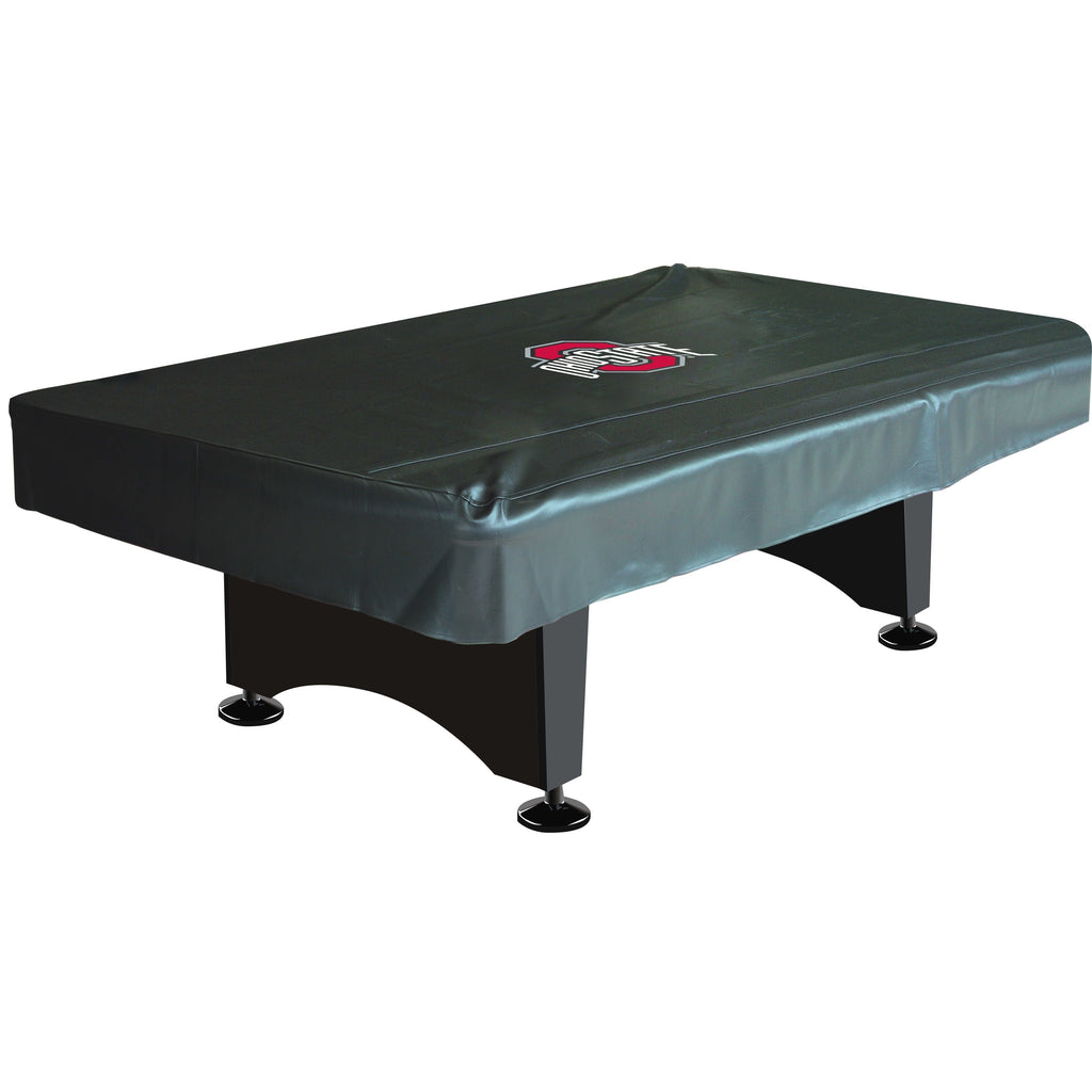 8' Deluxe Pool Table Cover NCAA Ohio State University - Diamond Home USA