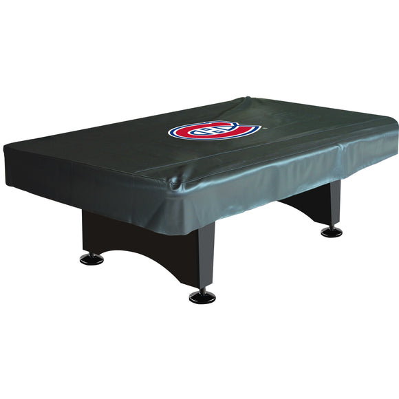8' Deluxe Pool Table Cover NHL Montreal Canadiens - Diamond Home USA