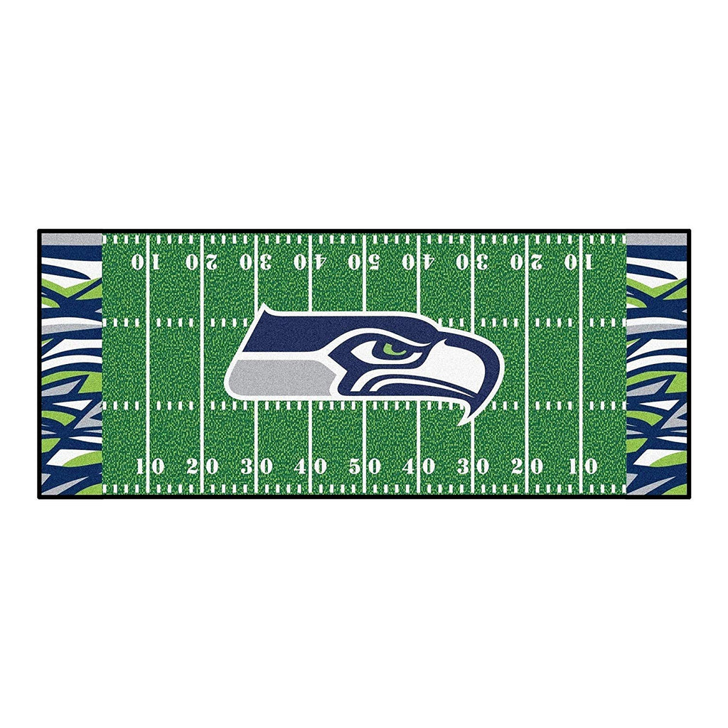 "30""x72"" NFL Seahawks Rug Football Field Runner Rug xl Yoga Mat Sports Area Rug Boys Bedroom Living Room Bathroom Rugs Runner Long Floor Carpet"