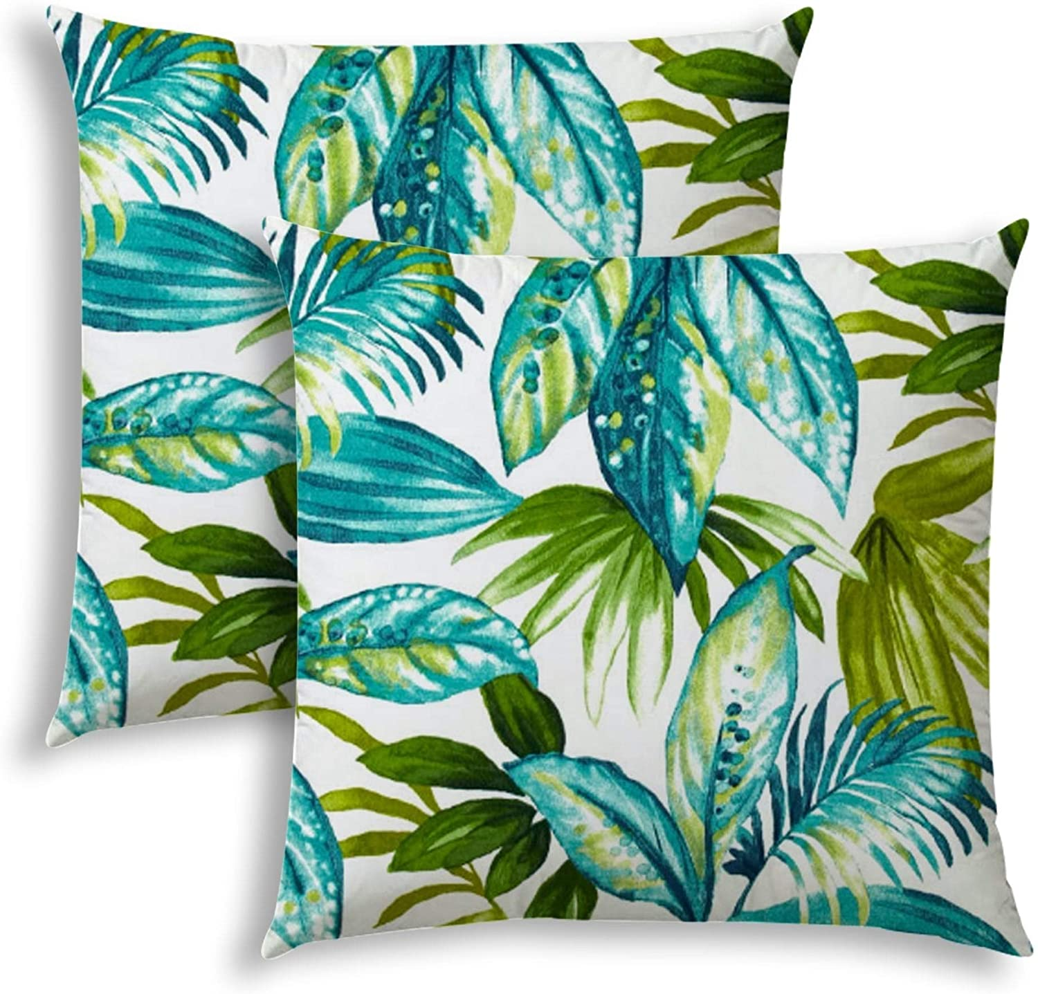 Island Cay Indoor/Outdoor Pillows Sewn Closure (Set Two) N/ Color Graphic Modern Contemporary Polyester Water Resistant