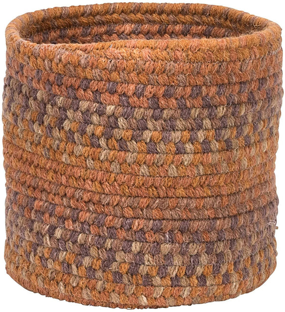 MISC Small Space Wool Basket Fall Oak 10
