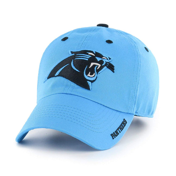 Blue NFL Carolina Panthers Hat Sports Football Baseball Cap Embroidered Team Logo Athletic Games Adjustable Cap/Hat Boys Kids Unisex Fan Gift