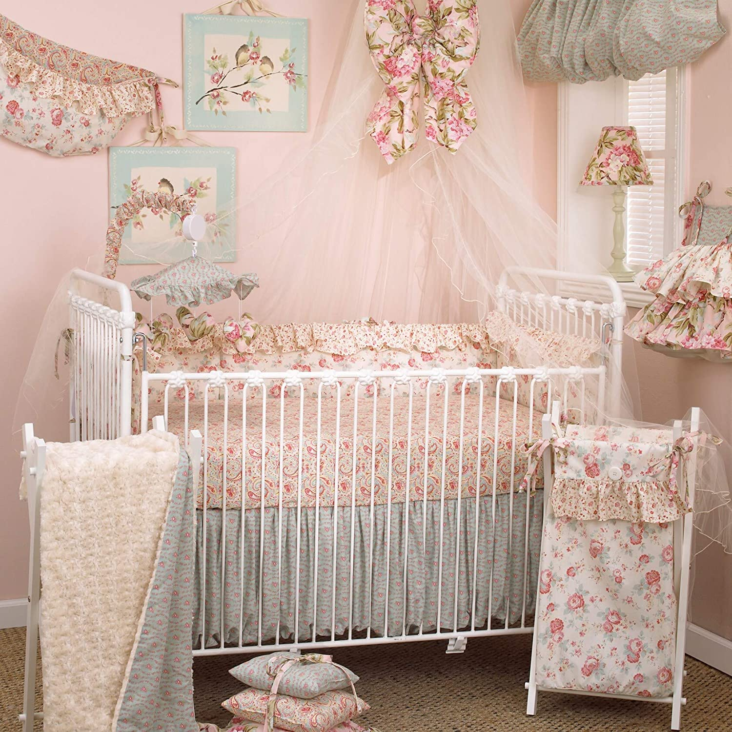 Tea Party Diaper Stacker Color