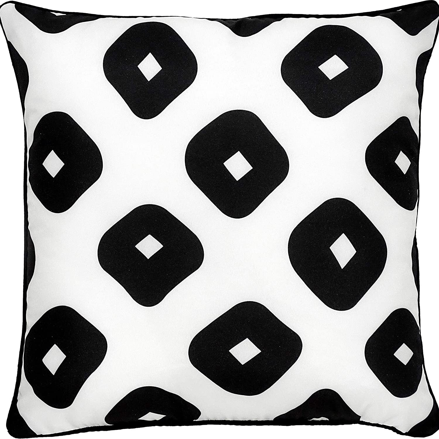 Outdoor Pillow Color Geometric Polyester