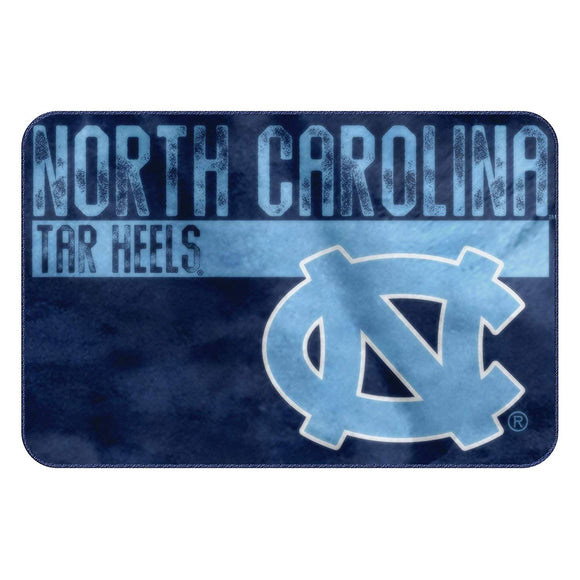 50x20 NCAA Tar Heels Mat Sports Football Themed Foam Mat Team Logo Printed Area Rug Boys Teen Bedroom Living Room Bathtub Bathroom Home Decor Floor