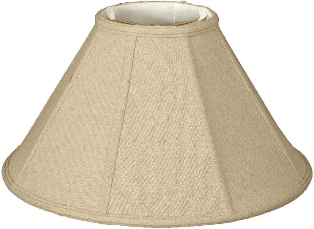 Linen Eggshell Lamp Shade 6 X 16 10 Cream Traditional