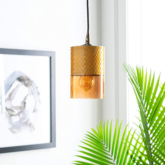 Eclectic Translucent 1 Light Pendant 12